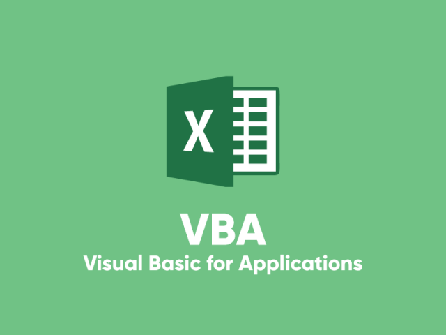 VBA Visual Basic Applications